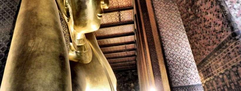 Buddha couché - Wat Pho - Bangkok, Thaïlande
