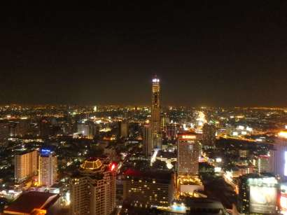 Red Sky Bar view, Bangkok