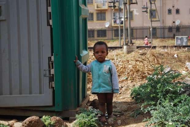 Young boy, Soweto