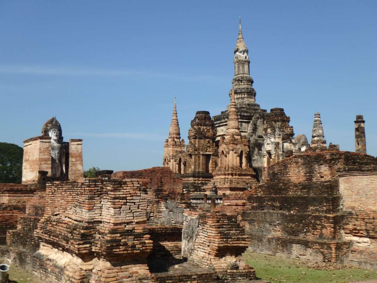 Sukhothai - ruines