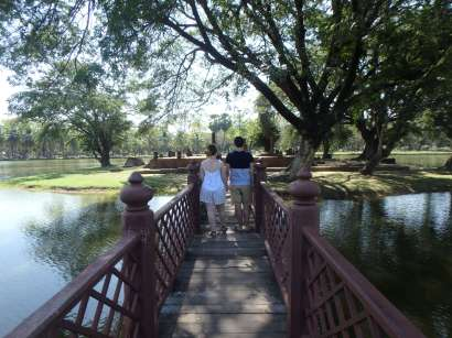 Sukhothai - pont