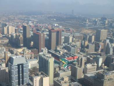 Top of Africa, Johannesburg
