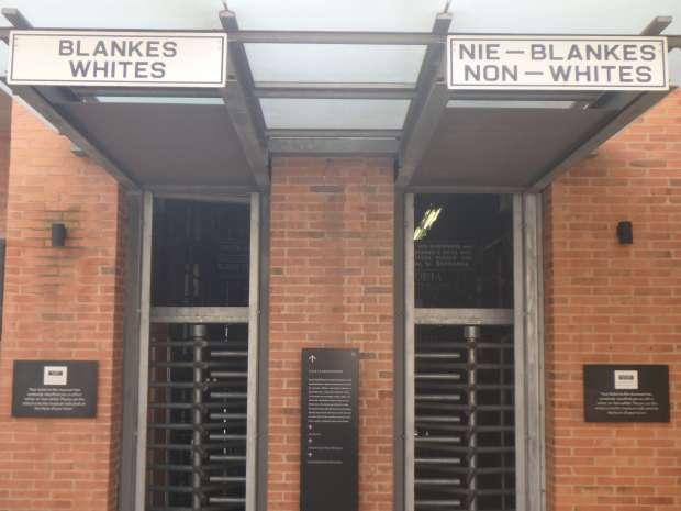 Apartheid Museum, Johannesburg