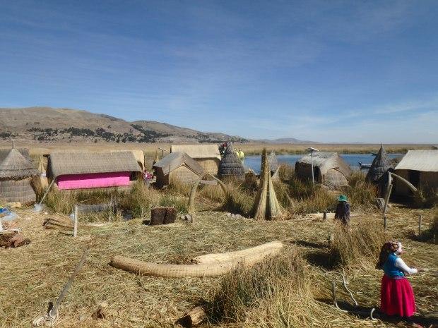 Uros, Lac Titicaca, Pérou