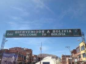 Desaguadero - frontière Pérou - Bolivie