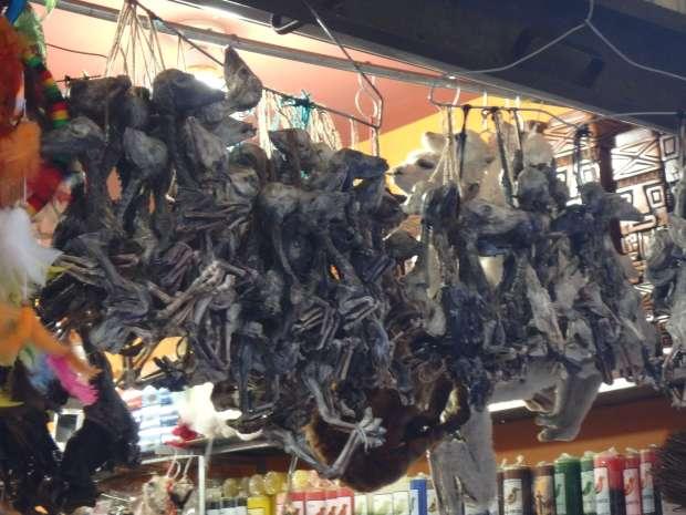 La Paz - mercado de las brujas