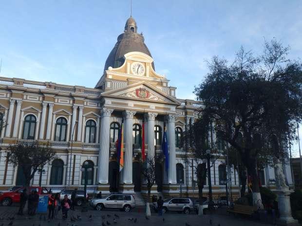 Plaza de armas - La Paz