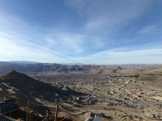 Panorama, Potosi, Bolivie
