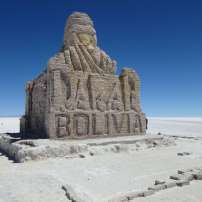 Paris Dakar, Salar d'Uyuni, Bolivie