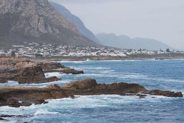 Côte, Hermanus, Afrique du Sud