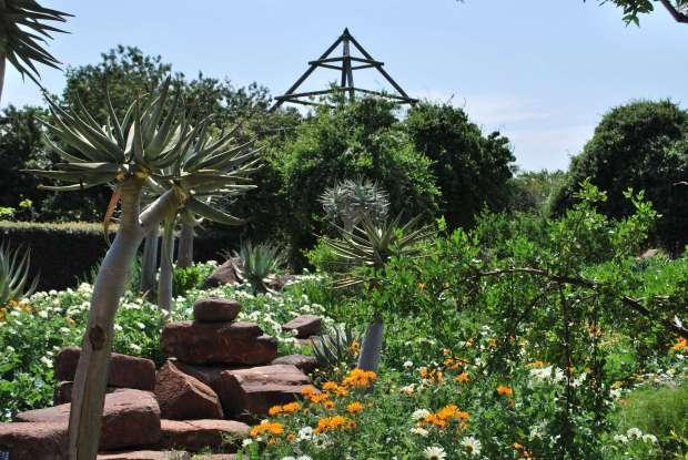 jardin exotique, Babylonstoren, Afrique du Sud