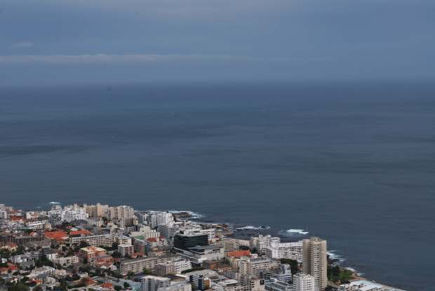 Signal Hill view, Cape Town, Afrique du Sud