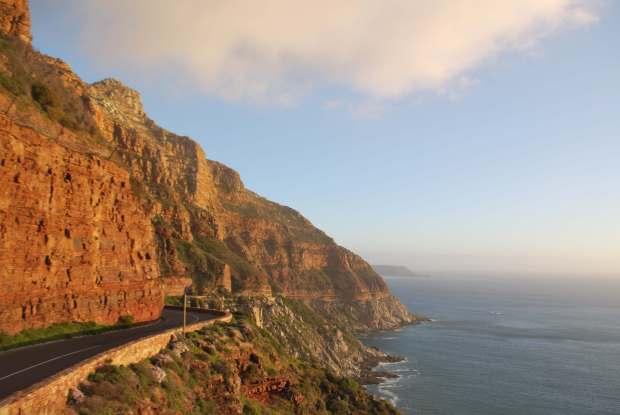 Chapman's Peak road, Cape Town, Afrique du Sud