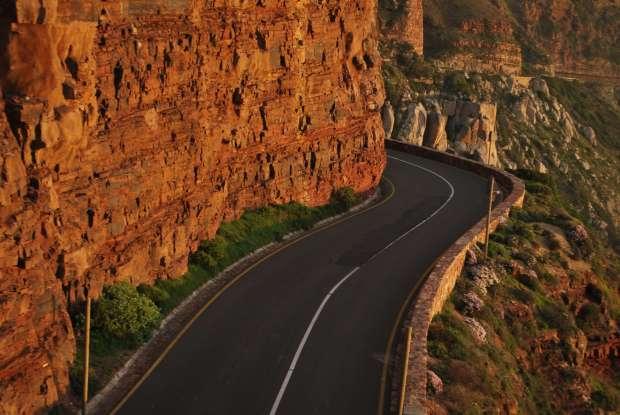Chapman's Peak route, Cape Town, Afrique du Sud