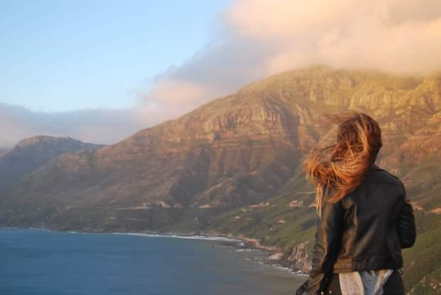 Chapman's Peak vue, Cape Town, Afrique du Sud