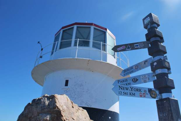 Old Cape Point Lighthouse, Cape Town, Afrique du Sud