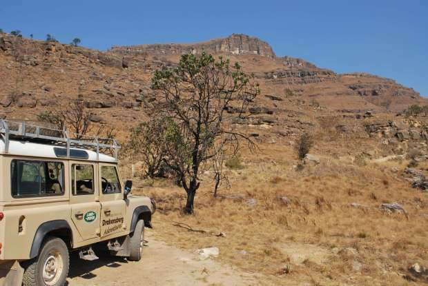 Sani pass - Jeep