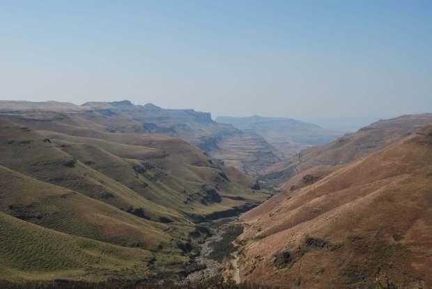 Sani pass - Paysage