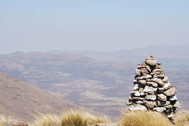 Lesotho - Pierres
