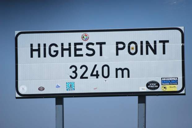 Lesotho Highest Point