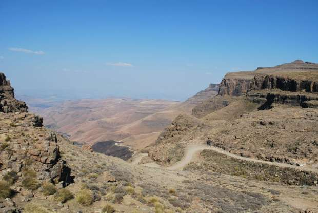 Sani Pass View