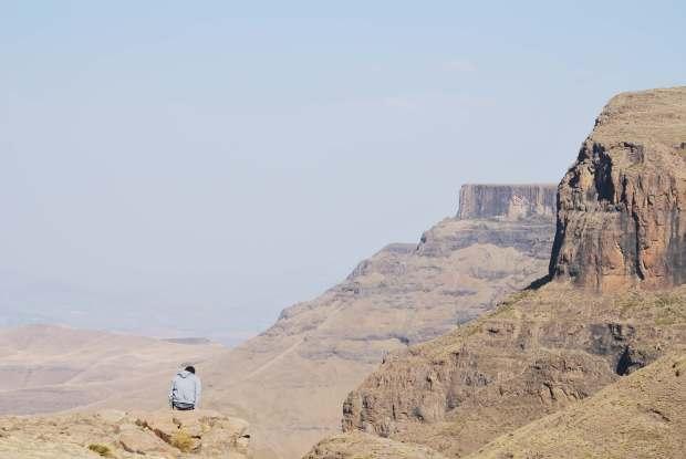 Lesotho amazing landscape