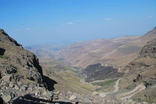Sani Pass landscape