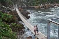 Suspending bridge, Tsitsikamma National Park, Afrique du Sud