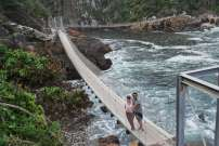 Suspending bridge, Tsitsikamma National Park, Afrique du Sud