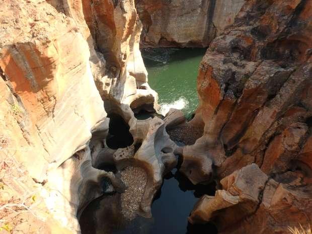 Bourke's Luck Potholes, Afrique du Sud