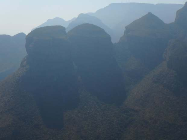 Three Rondavels, Afrique du Sud
