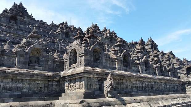 Temple Borodubur, Indonésie