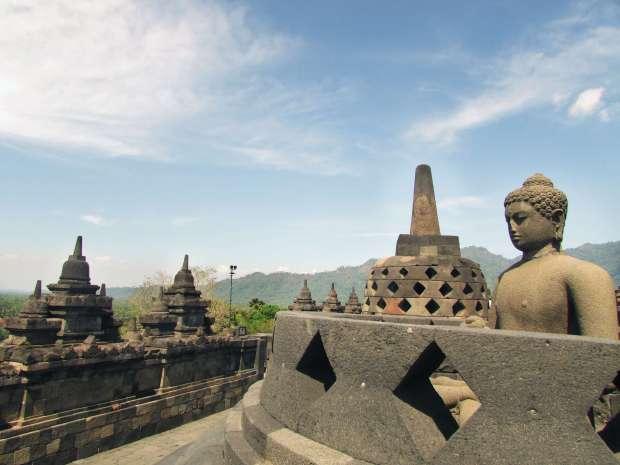 Borodubur, Yogyakarta, Indonésie