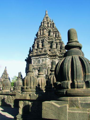 Ornements, Prambanan, Indonésie