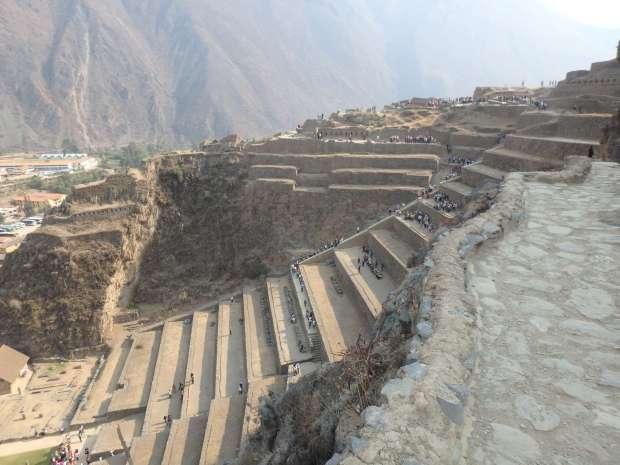Forteresse, Ollantaytambo, Pérou