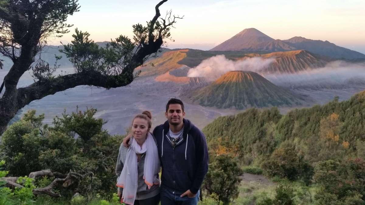 Landscape, Mont Bromo, Indonésie