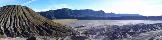 Paysage lunaire, Mont Bromo, Indonésie