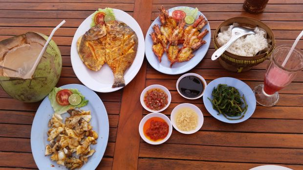Seafood, Jimbaran, Bali