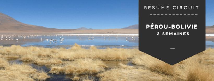 Circuit 3 semaines Pérou - Bolivie