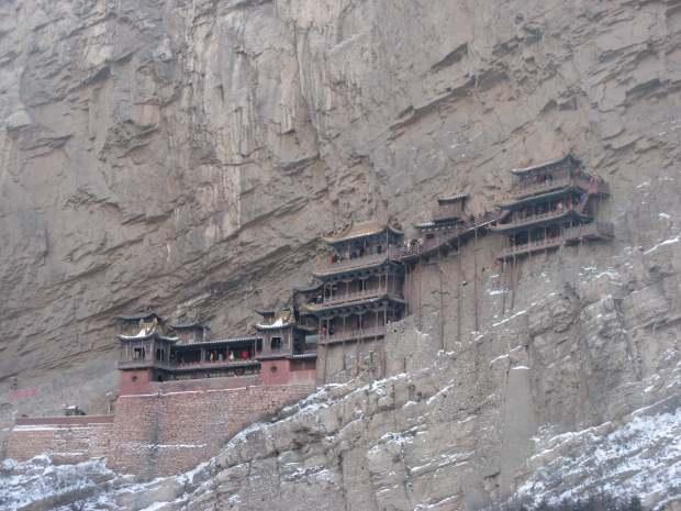 Monastère suspendu, Datong, Chine