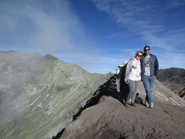 Bords du cratère, Mont Bromo, Indonésie