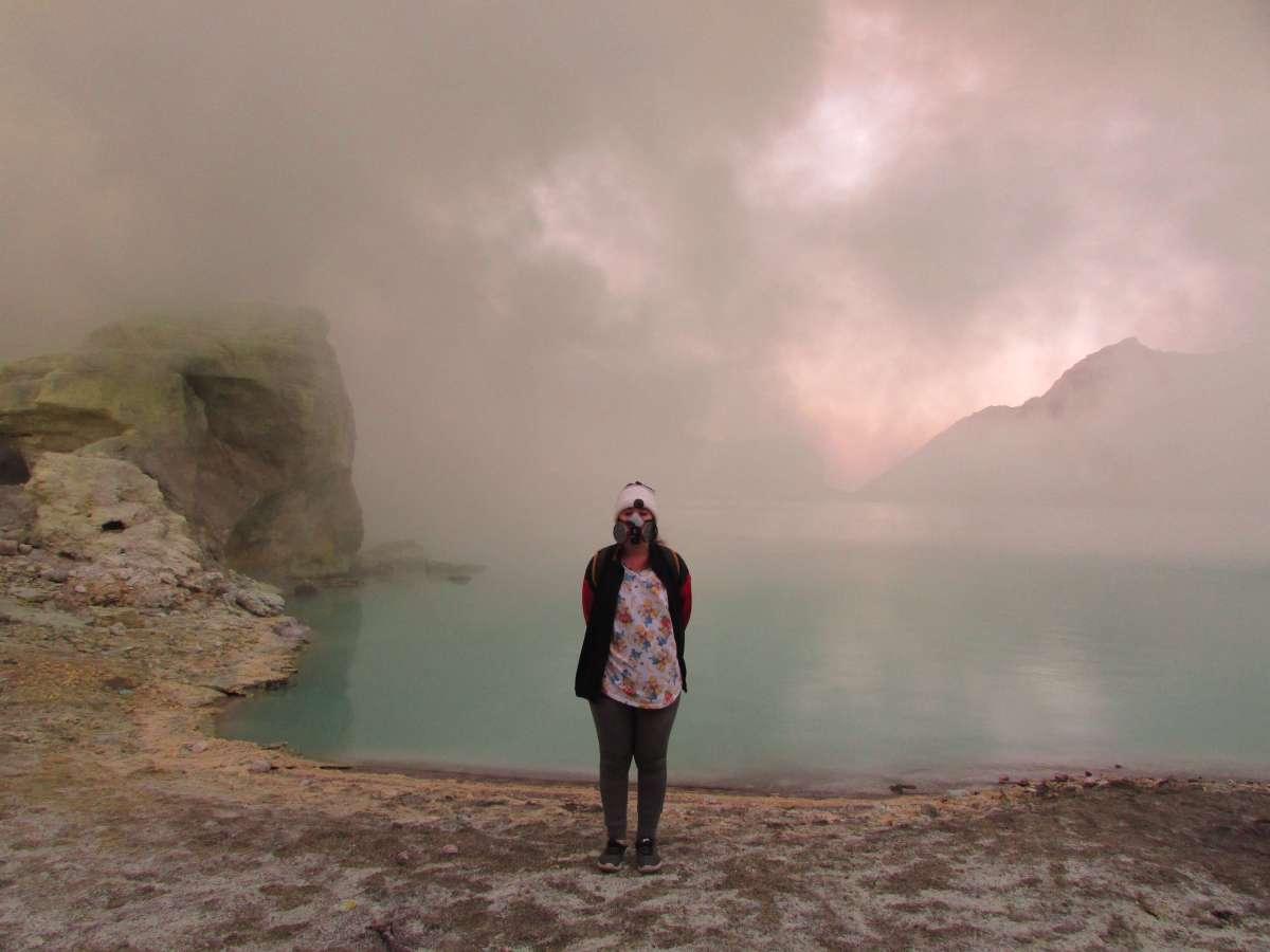 Lac, Kawah Ijen, Indonésie