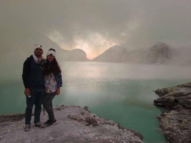 Lake, Kawah Ijen, Indonésie