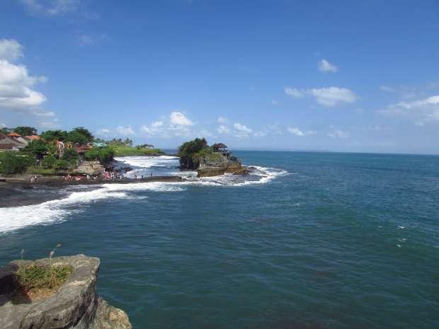 Rocher de Tanah Lot, Bali, Indonésie