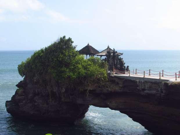 Tanah Lot view, Bali, Indonésie