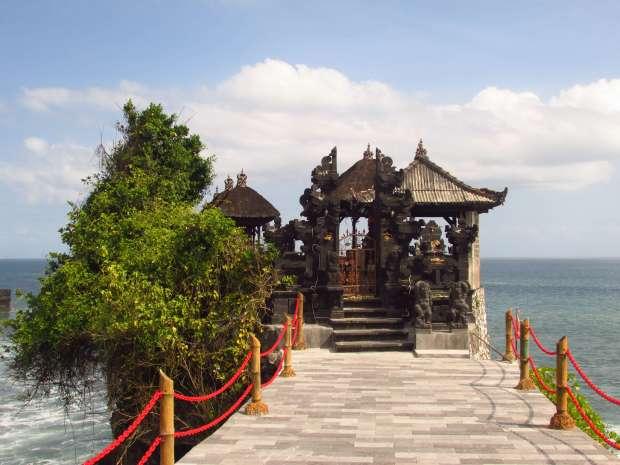 Tanah Lot ocean front, Bali, Indonésie