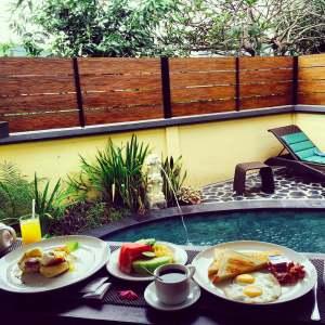 Bali Ayu Villa, Breakfast, Seminyak