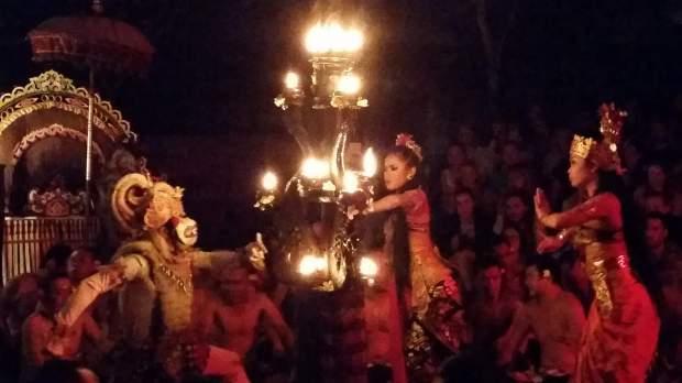 Kecak Dance in Ubud, Bali