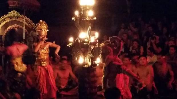 Spectacle Kecak, Ubud, Bali