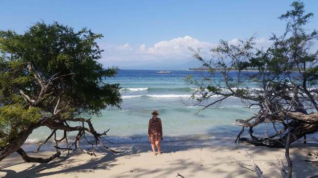 Beach, Gili Meno